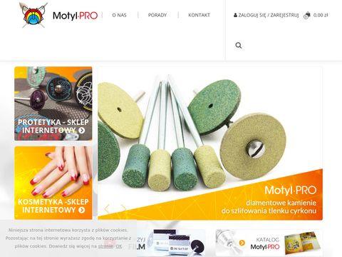 Motylpro.pl hurtownia frezy protetyczne
