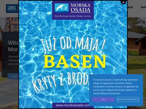 Morskaosada.com domki nad morzem