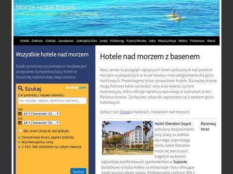 Morze-hotel-basen.pl hotele z basenem