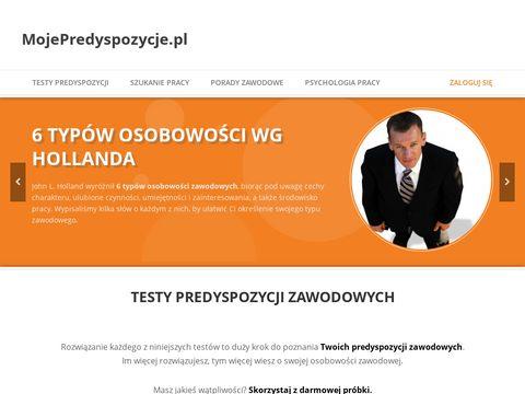 Mojepredyspozycje.pl zawodowe