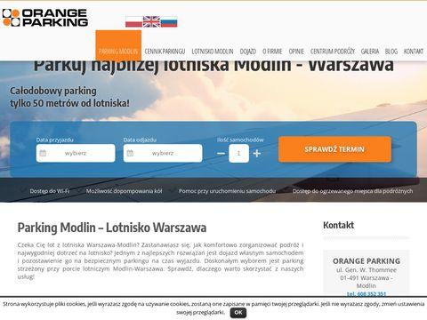 Orange Parking dla mieszkańców Warszawy