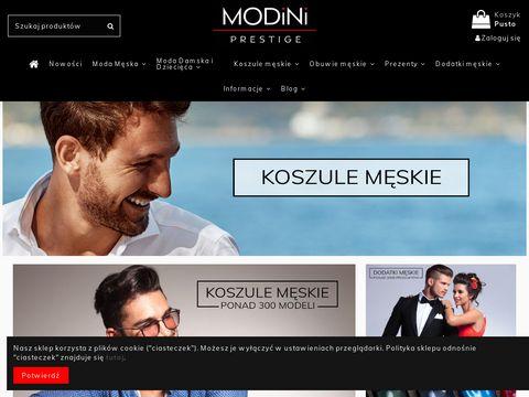 Modini.pl odzież męska