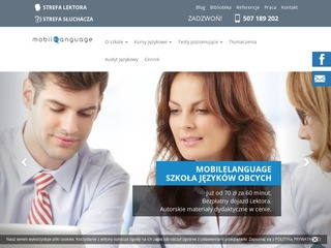 Mobilelanguage.pl angielski dla dzieci