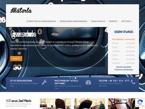 Materla.com.pl Naprawa klimatyzacji w aucie