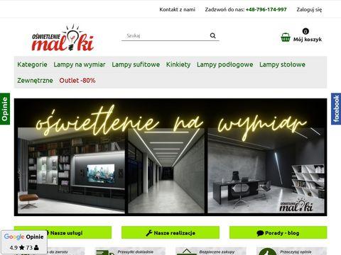 Maliki.pl sklep z oświetleniem