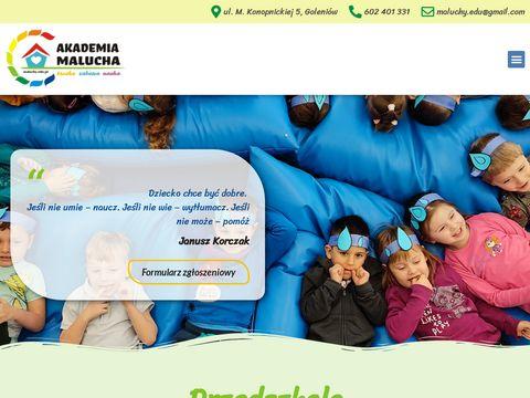 Maluchy.edu.pl przedszkole prywatne