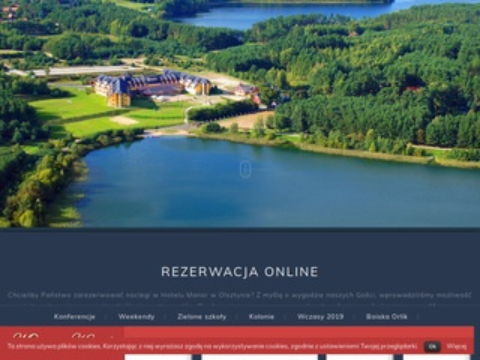 Manorhotel.pl weekend nad jeziorem