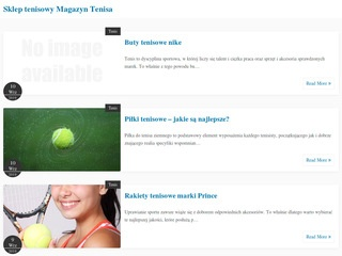 Magazyntenisa.pl sklep tenisowy