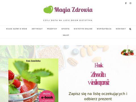 MagiaZdrowia.com.pl gabinet dietetyczny