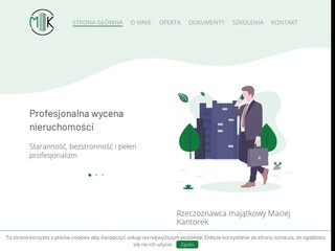 Maciejkantorek.pl operat szacunkowy Szczecin