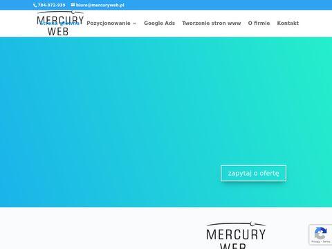 MercuryWeb pozycjonowanie