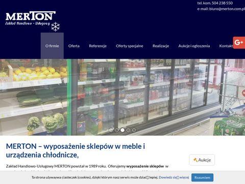 Merton.com.pl wyposażenie sklepów