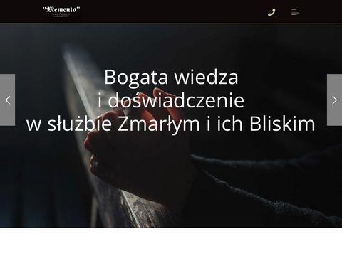 Memento-zop.pl zakład pogrzebowy