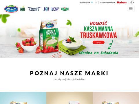 Melvit.pl - producent kaszy jaglanej