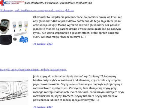 Medyczny-rzeszow.pl - akcesoria medyczne