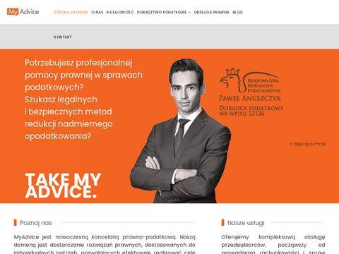 Myadvice.pl doradca podatkowy Łódź