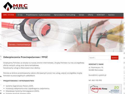 MRC-System - ekspertyza ppoż