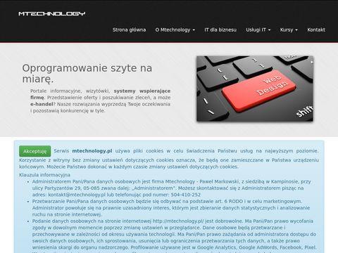 Mtechnology usługi IT