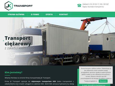 J-k-transport.eu wynajem HDS Poznań