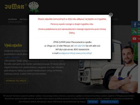 Jumar wywóz odpadów Szczecin
