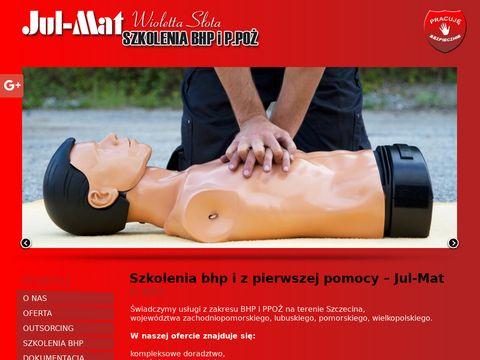 Jul-Mat ocena ryzyka zawodowego Szczecin