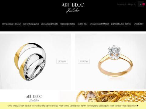 Art Deco biżuteria - jubiler z pasją