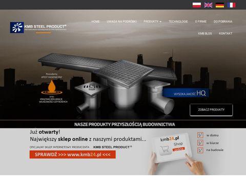 Kmb-steelproduct.eu kratki ściekowe