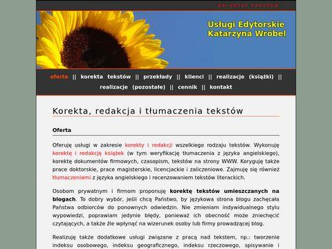 Korektor-tekstow.pl