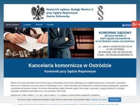 Komorniksadowyostroda.pl Hanna Żołnowska