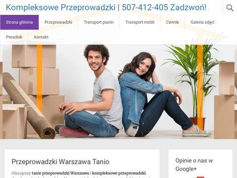 Kompleksowe-przeprowadzki.pl w Warszawie
