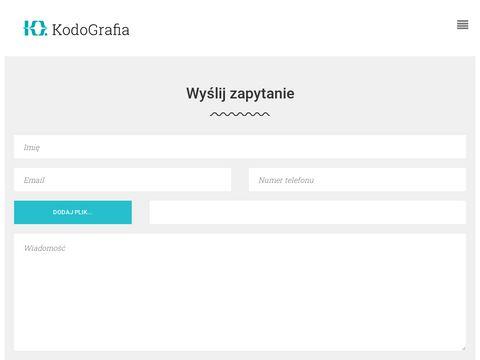 Kodografia.pl kodowanie stron