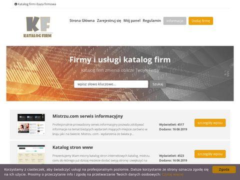 Katalog-firmy.biz Indeks firm