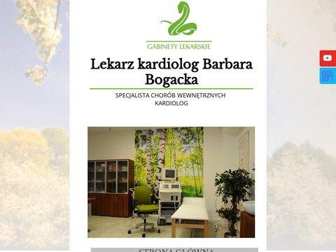 Barbara Bogacka kardiolog Gorzów