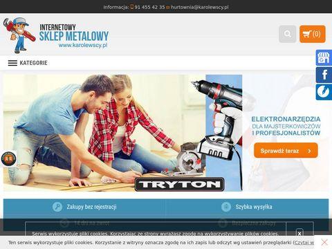 Karolewscy.pl sklep metalowy