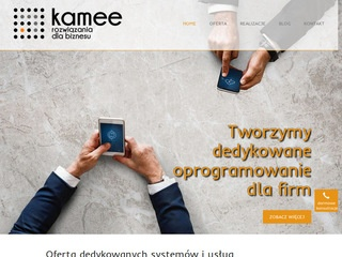 Kamee.pl oprogramowanie CRM Kraków