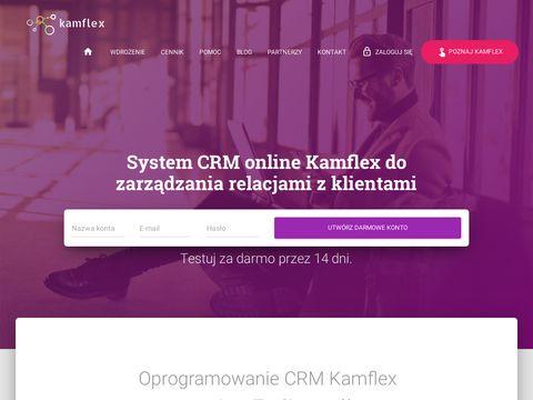 Kamflex.pl system CRM