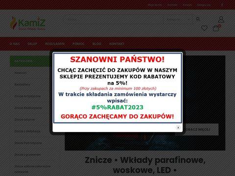 Kamiz24.pl internetowy sklep ze zniczami