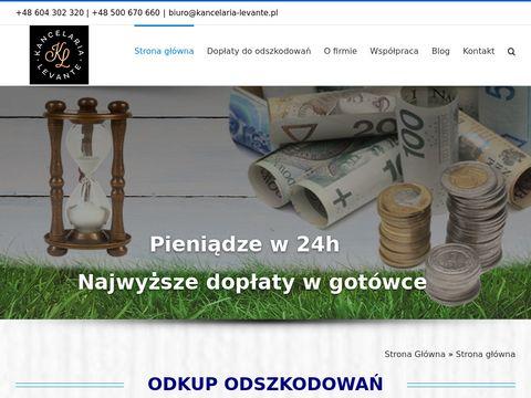 Kancelaria-levante.pl odkup szkody