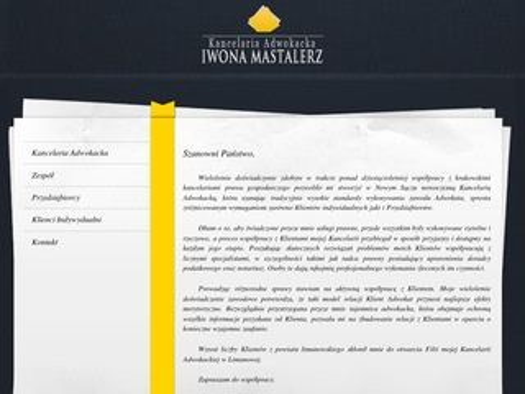 Iwona Mastalerz adwokat