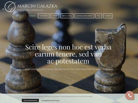 Marcin Gałązka kancelaria adwokacka
