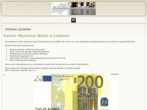 Europa Kantor wymiany walut