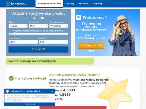 Kantorbox.pl - kantory internetowe