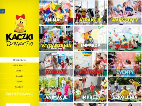 Kaczki-dziwaczki.pl animator