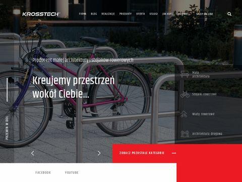 Krosstech.pl - ławki ogrodowe drewniane