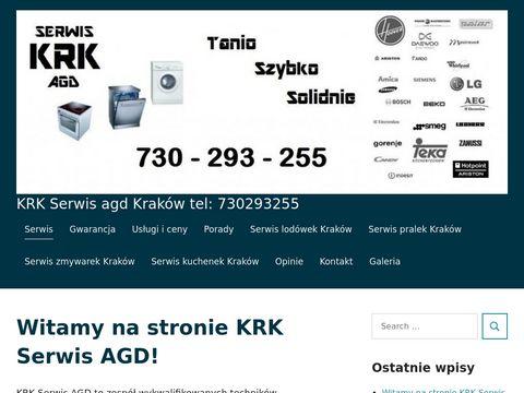 Krkserwisagd.pl zmywarek pralek kuchenek