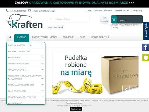 Kraften.pl - opakowania kartonowe