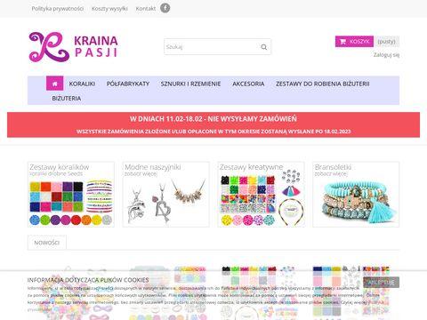 Krainapasji.pl - sklep z koralikami