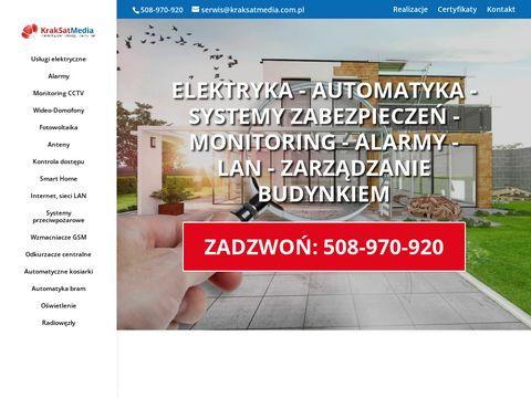 KrakSatMedia - serwis anten Kraków