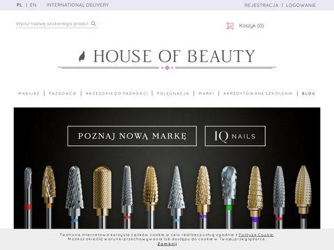 Houseofbeauty.com.pl akcesoria kosmetyczne