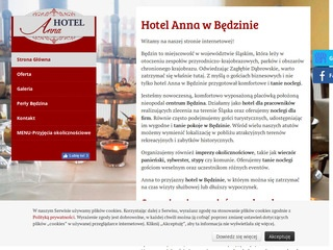 Hotel-anna.com.pl wieczór kawalerski Będzin